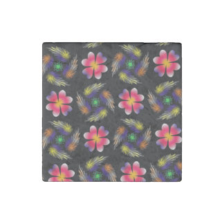 Pattern Design Stone Magnet