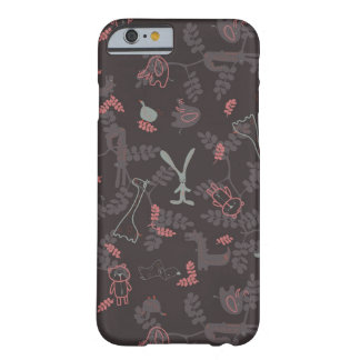 pattern displaying baby animals 1 barely there iPhone 6 case