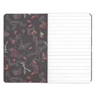 pattern displaying baby animals 1 journals