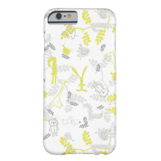 pattern displaying baby animals 2 barely there iPhone 6 case