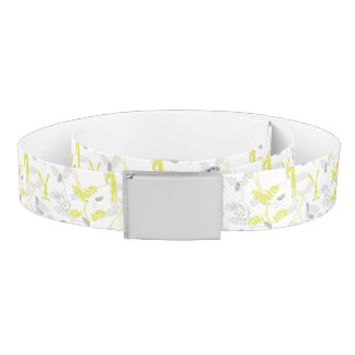 pattern displaying baby animals 2 belt