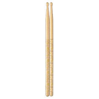 pattern displaying baby animals 2 drumsticks