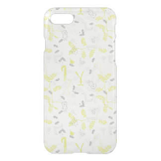 pattern displaying baby animals 2 iPhone 8/7 case