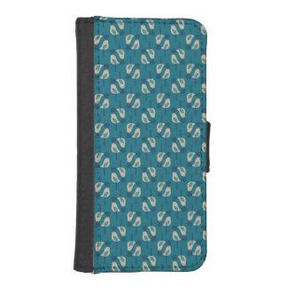 pattern displaying birds iPhone SE/5/5s wallet case