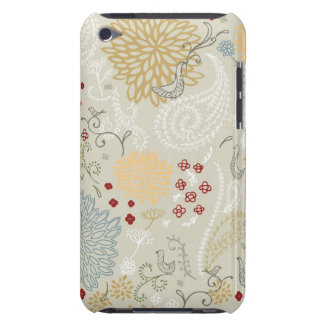 pattern displaying curly garden iPod touch covers