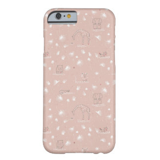 pattern displaying cute baby jungle animals barely there iPhone 6 case