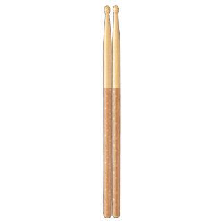 pattern displaying cute baby jungle animals drumsticks