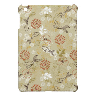 pattern displaying koi fish cover for the iPad mini