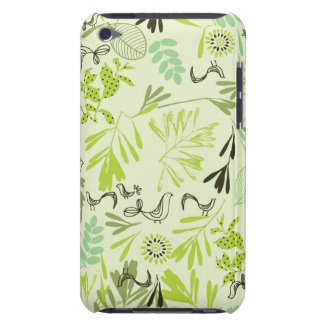 pattern displaying little baby birds iPod touch cover