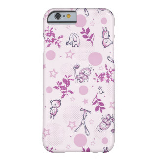 pattern displaying vintage baby animals barely there iPhone 6 case