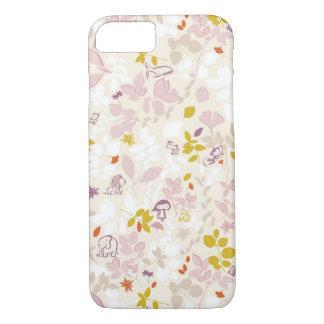 pattern displaying whimsical animals iPhone 8/7 case
