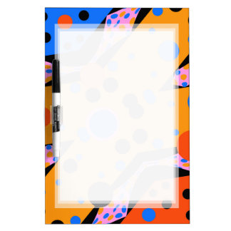 PATTERN DRYERASEBOARD COLORFUL ABSTRACT
