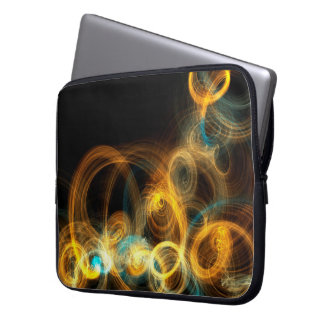 Pattern Fire Flame Office Business Commo Web Net Computer Sleeve