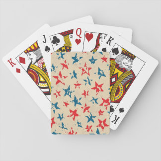 Pattern for 4th of July Playing Cards