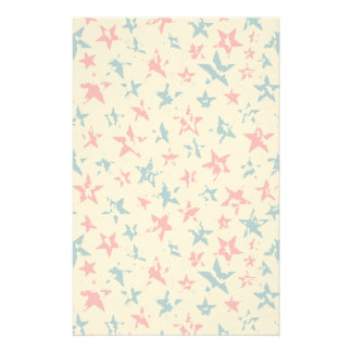 Pattern for 4th of July Stationery