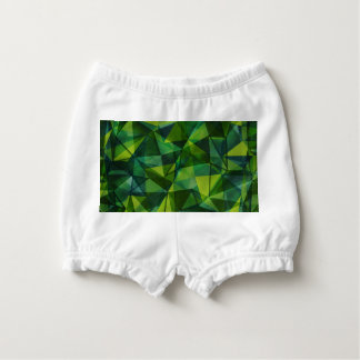 pattern green nappy cover