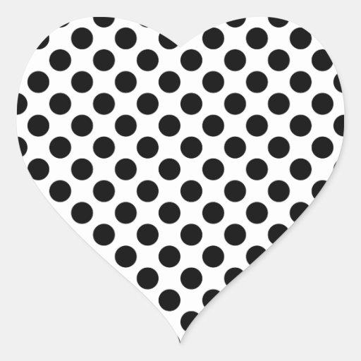 Pattern Heart Sticker