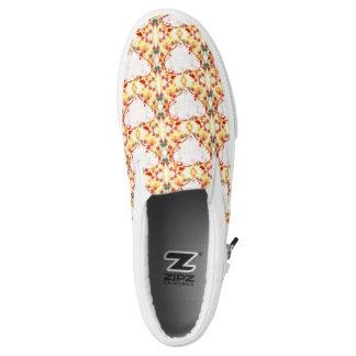 Pattern heart Zipz Slip On Shoes, UK: 3, EUR: 35.5