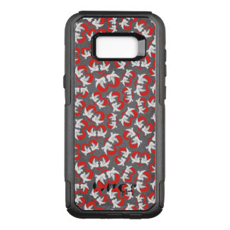Pattern illustration peace doves with heart OtterBox commuter samsung galaxy s8+ case