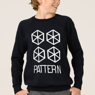 Pattern Kids' American Apparel Sweatshirt