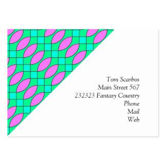 Pattern Kuki pink Business Card