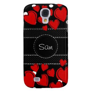 Pattern Monogrammed Office Party Shower Birthday Samsung Galaxy S4 Case
