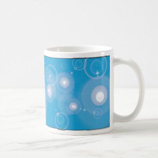 PATTERN MUGS - Cyan Blue Flare Cup Pattern