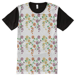Pattern NO.2: Hanging Flower All-Over Print Tee All-Over Print T-Shirt