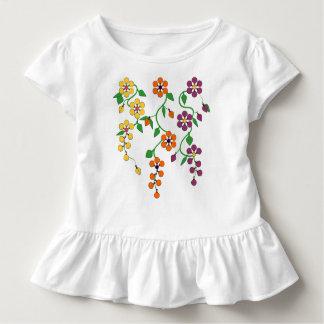 Pattern NO.2: Hanging Flowers Baby Ruffle Tee