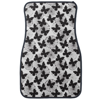 pattern of a butterfly car mat
