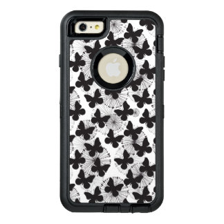 pattern of a butterfly OtterBox defender iPhone case