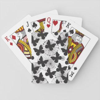 pattern of a butterfly poker deck