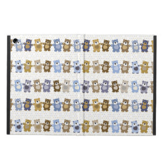 pattern of a toy teddy bear iPad air cover
