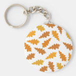 Pattern of Autumn Leaves. Key Chain