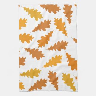 Pattern of Autumn Leaves. Tea Towel
