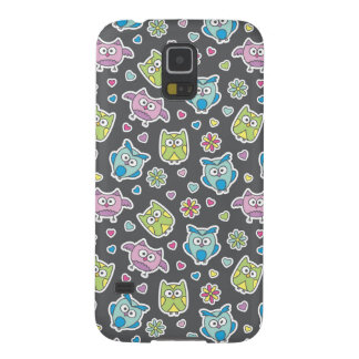pattern of cartoon owls galaxy s5 covers
