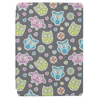 pattern of cartoon owls iPad air cover