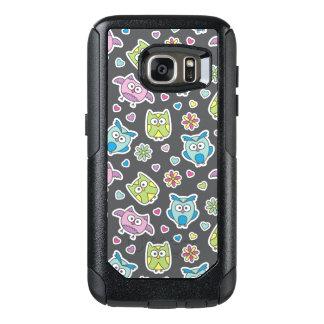 pattern of cartoon owls OtterBox samsung galaxy s7 case
