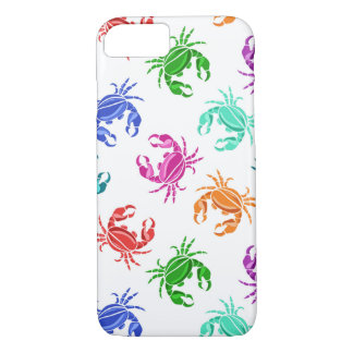 Pattern Of Crabs iPhone 7 Case