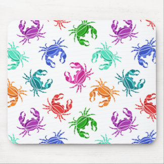 Pattern Of Crabs Mouse Mat