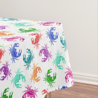 Pattern Of Crabs Tablecloth