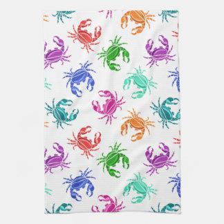 Pattern Of Crabs Tea Towel