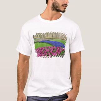 Pattern of Grape Hyacinth, tulips, and 2 T-Shirt