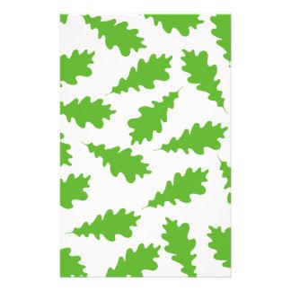 Pattern of Green Leaves. 14 Cm X 21.5 Cm Flyer