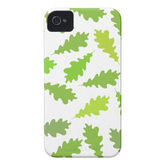 Pattern of Green Leaves. iPhone 4 Cover