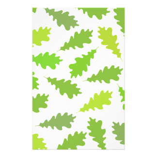 Pattern of Green Leaves Flyer