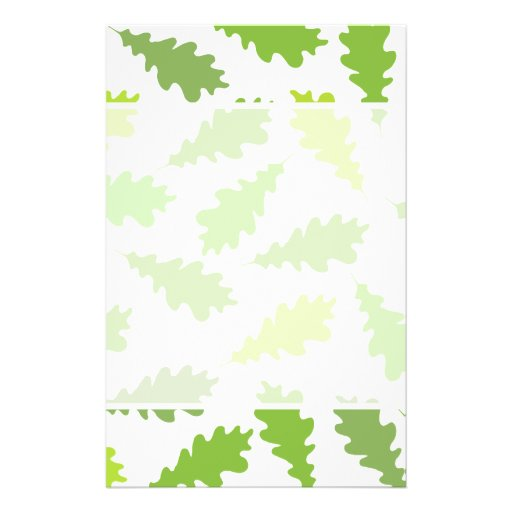 Pattern of Green Leaves. Flyers
