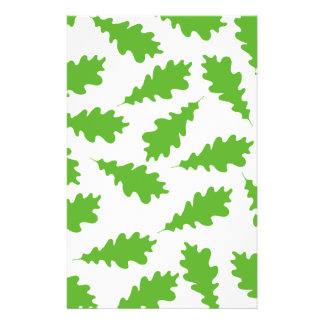Pattern of Green Leaves Flyers
