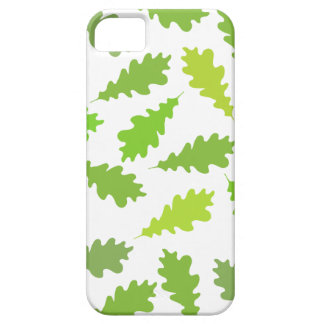 Pattern of Green Leaves. iPhone 5 Case
