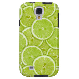 Pattern Of Green Lime Slices Galaxy S4 Case